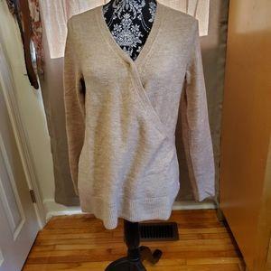 Small nursing sweater